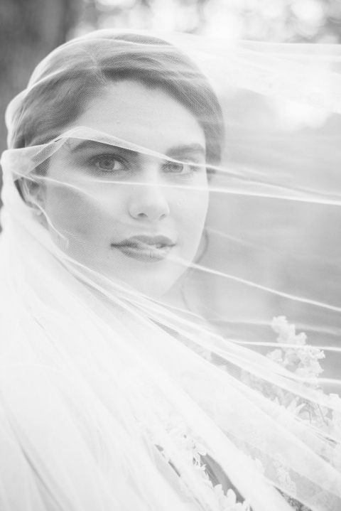 Bridal Portraits by the Lake