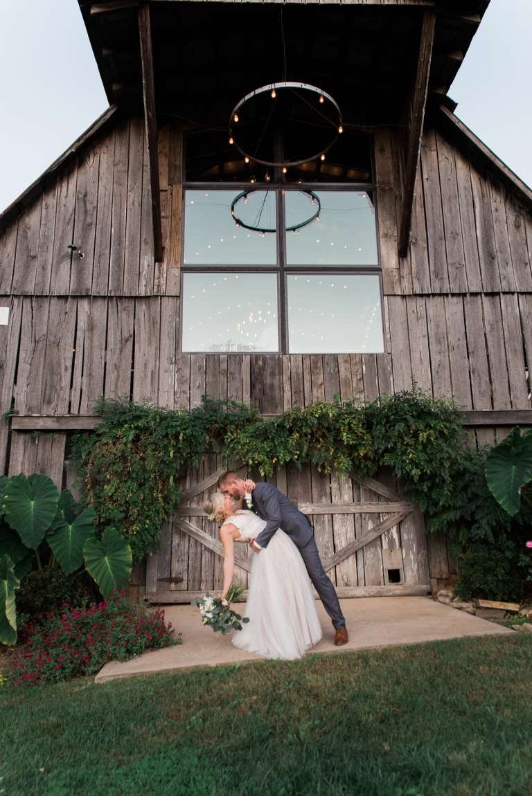Bride and Groom Portraits at The Grey Dove